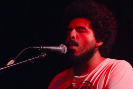 Helado Negro performs.