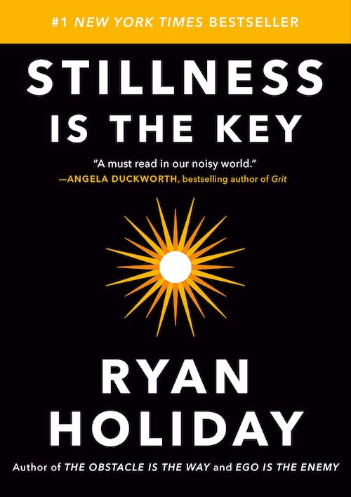 Cover of the book: Stillness is the Key. Penultimate of our books to read.