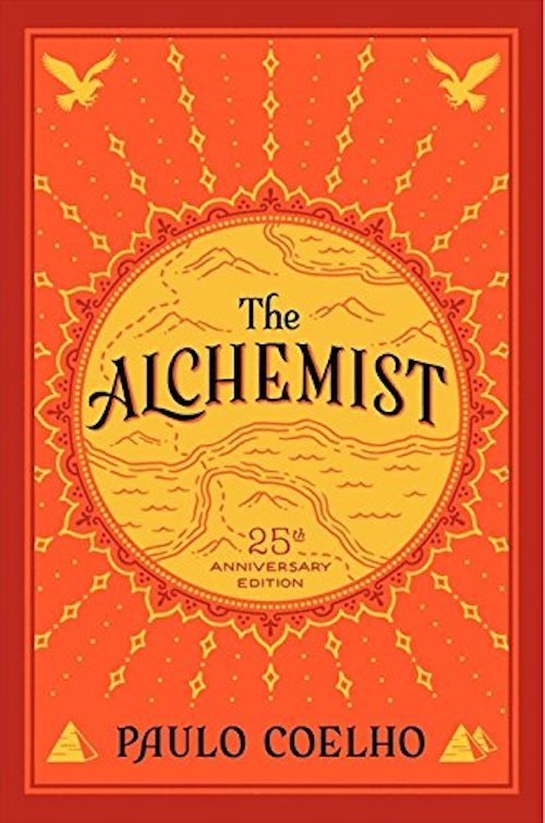 Cover of the book: The Alchemist.